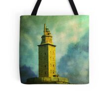 Tower of Hercules Tote Bag