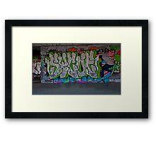 Skateboarder v2 Framed Print