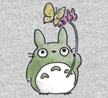 Totoro Flowers Kids Clothes