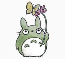 Totoro Flowers Kids Tee