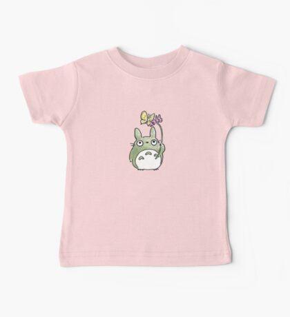 Totoro Flowers Baby Tee