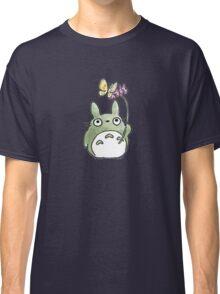 Totoro Flowers Classic T-Shirt