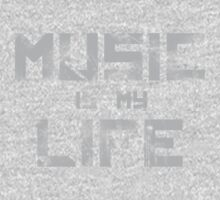 Music Is My Life One Piece - Long Sleeve