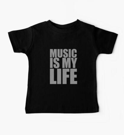 Music Is My Life Baby Tee