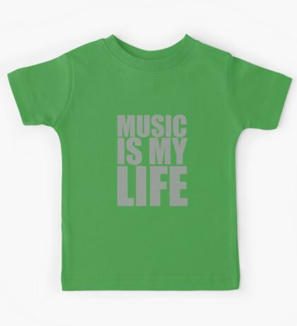 Music Is My Life Kids Tee