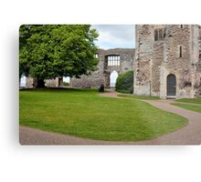 Inside Newark Castle Metal Print