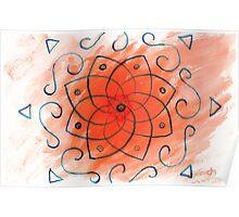 Sol Mandala Poster