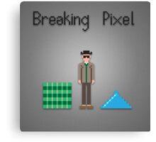 Breaking pixel Canvas Print