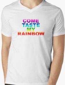 Come Taste My Rainbow Mens V-Neck T-Shirt