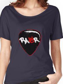 Rawr Guitar Pick Women's Relaxed Fit T-Shirt