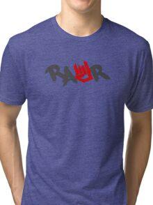 Rawr Logo Tri-blend T-Shirt