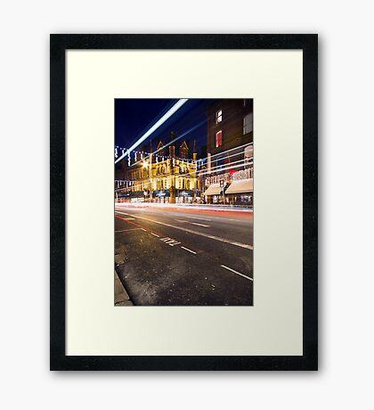 George St, Dublin Framed Print