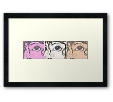 see different Framed Print