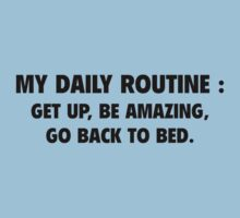 My Daily Routine by BrightDesign