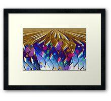 Golden Planet Framed Print
