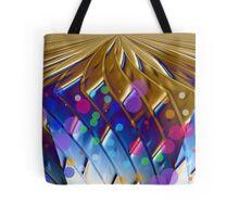 Golden Planet Tote Bag