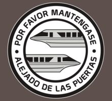Por Favor Monorail Silver by AngrySaint