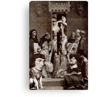 Trial of a Screen. Canvas Print