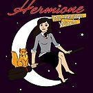 Hermione the Teenage Witch by huckblade