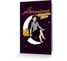 Hermione the Teenage Witch Greeting Card