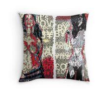 Incarnata Diptych #26 Throw Pillow