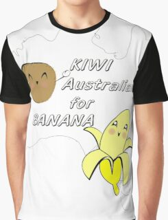 Kiwi, Australian for Banana Graphic T-Shirt