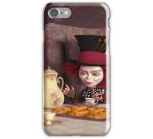 The Hatter - Tea Time iPhone Case/Skin