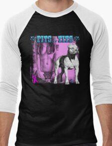 Pits for Tits Men's Baseball ¾ T-Shirt