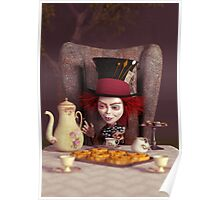 The Hatter - Tea Time Poster