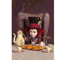 The Hatter - Tea Time Photographic Print