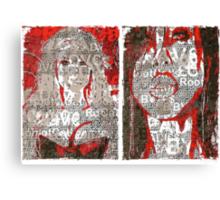 Incarnata Diptych #29 Canvas Print