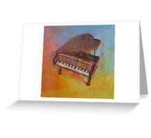 Piano Greeting Card