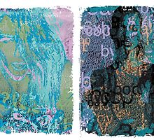 Incarnata Diptych #30 by Grimm Land