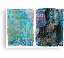 Incarnata Diptych #30 Canvas Print