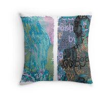 Incarnata Diptych #30 Throw Pillow