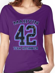TEAM HITCHHIKER _Marvin Women's Relaxed Fit T-Shirt
