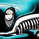 Classic Turquoise Buick by Joann Copeland-Paul