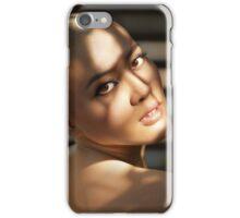 Bald girl iPhone Case/Skin