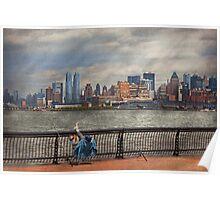 City - Hoboken, NJ - Fishing - The good life  Poster