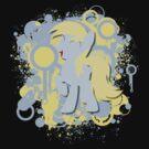 Derpy Splatter Silhouette  by LcPsycho