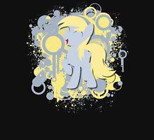 Derpy Splatter Silhouette  Unisex T-Shirt