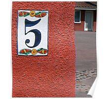 Numero Cinco Poster