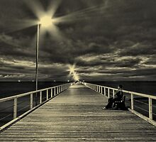 Sitting on the Dock by Mark Cooper