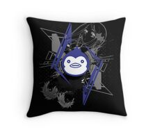 Mawaru PenguinDrum T-shirt Throw Pillow