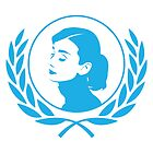 Audrey Hepburn for UNICEF by Elly Hartley