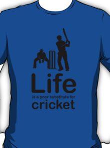 Cricket v Life - White T-Shirt