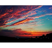 Dramatic Sunset Photographic Print