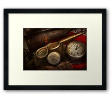 Steampunk - War - Remembering the war Framed Print