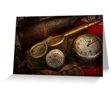 Steampunk - War - Remembering the war Greeting Card