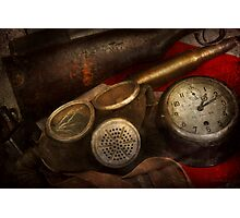 Steampunk - War - Remembering the war Photographic Print